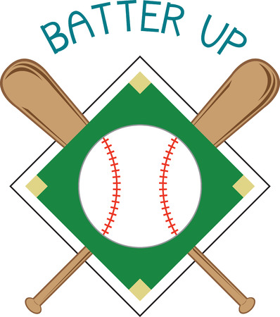the americas: Bring the excitement of Americas favorite sport to your creations. This is an amazing design for embellishing a special shirt or a sport bag for that special baseball fan. Illustration