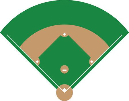 Apportez l'excitation du sport préféré de l'Amérique à vos créations. Ceci est un design étonnant pour embellir une chemise spéciale ou un sac de sport pour ce fan de baseball spéciale. Banque d'images - 42750880