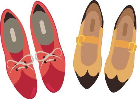 Accessorize per desiderio del vostro cuore. Ottenere queste scarpe dressy sui vostri progetti interni ed aggiungere personalità al vostro stile! Archivio Fotografico - 42722237