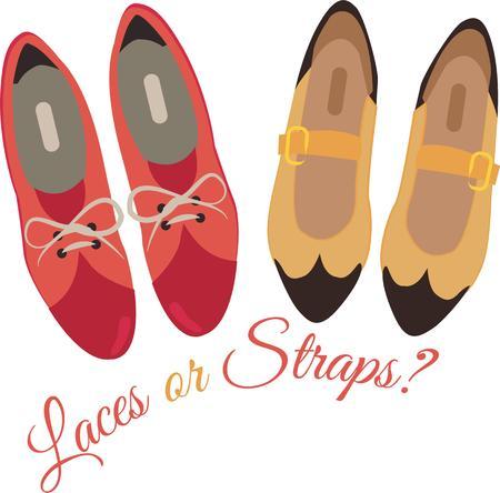 dressy: Accessorize al deseo de su coraz�n. Obtener estos zapatos de vestir en sus proyectos de interior y personalidad a su estilo! Vectores