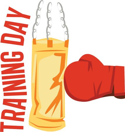 knockout: Looking for the perfect Birthday or Christmas gift Embroider this design on clothes, towels, pillows, gym bags, quilts, t-shirts, jackets or wall hangings for your boxing enthusiast! Illustration