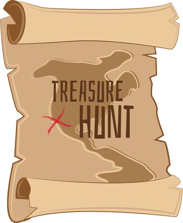 Set off on your adventure with this treasure hunt map to find the buried loot.  A great design on t-shirts, sweatshirts, totes and more!