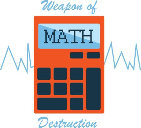 Use this calculator for a math students shirt.