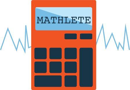 数学の学生のシャツにこの計算機を使用します。