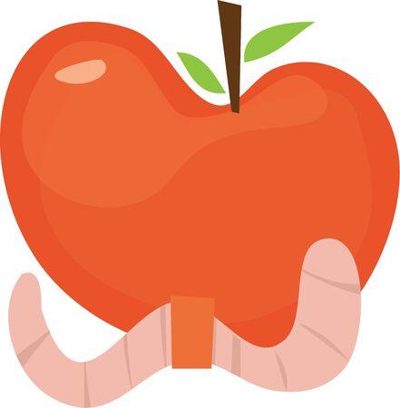 globule: Use this apple for a teachers shirt.