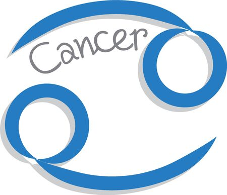 superstition: Use this cancer sign for your superstitious friends bag.