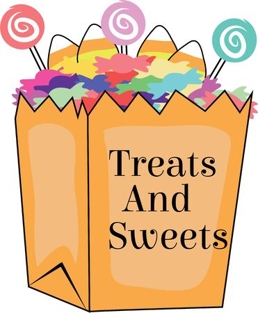 Use this treat bag for a Halloween bag for a kid. Çizim