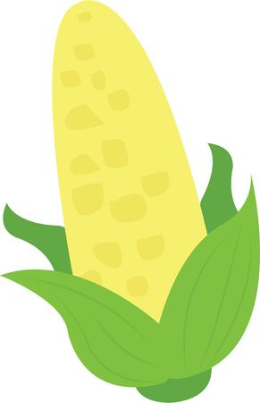 husks: Use this cob of corn for a vegetable lovers shirt.