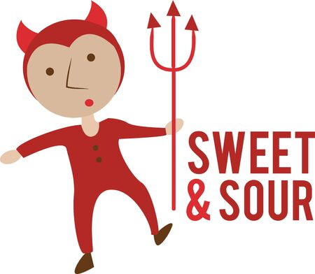 Use this little devil for a Halloween baby.