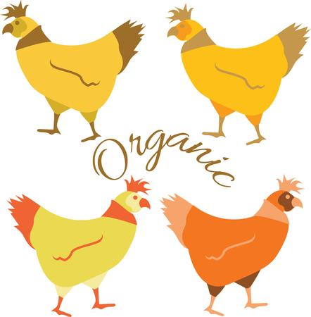 free range: Use these hens for a free range farmer friend quilt.
