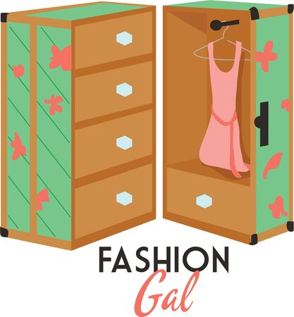 gal: Use this wardrobe for a little girls wardrobe cover.