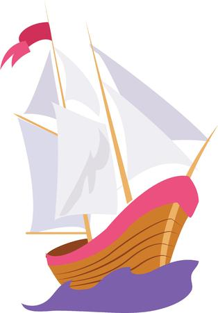 Use this boat from 1492 for a Columbus celebration shirt.