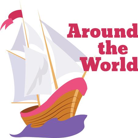 christopher columbus: Use this boat from 1492 for a Columbus celebration shirt.