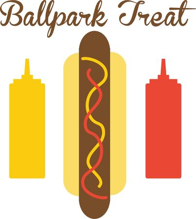frank: Use this hot dog for a ballpark shirt for a baseball fan.
