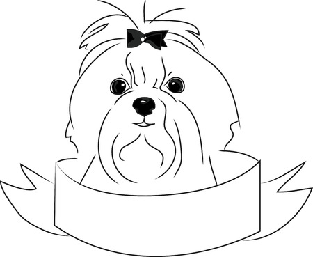 Dog lovers will love this design on a dog toy bag to bring to the dog park.