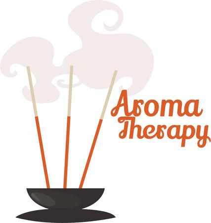 Aroma therapie is goed voor de ziel en perfect na een lange dag op het werk.