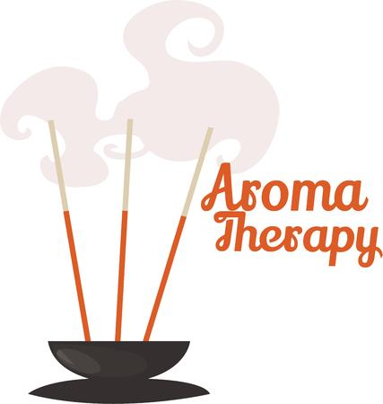 incense: Aroma therapy is good for soul and perfect after a long day at work.