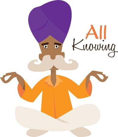 jnana: The all knowing man can read your future.