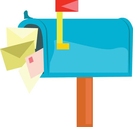 While on vacation leave your inbox for your return. Illustration