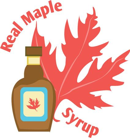 yum: Yum!  All natural maple syrup.  Perfect on every table.