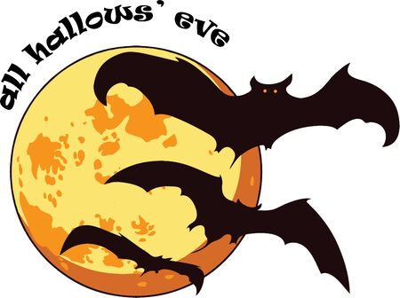 All hallows eve is a scary night.  Use this image in your Halloween design.