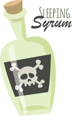 poison bottle: Prepare to have a hauntingly delightful Halloween with this design on t-shirts, hoodies, hats, warm-ups and more for the little ones!