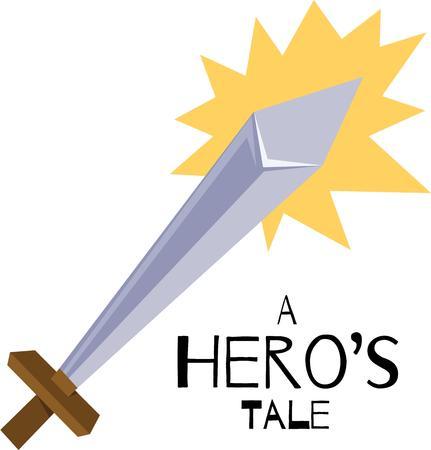 당신의 상상력을 행사하고 소년의 방에 장식이 강력하고 우아한 칼 디자인을 사용!