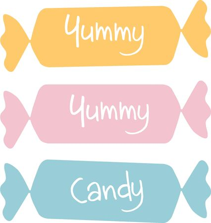 This candy design will be fun for a candy jar cover.