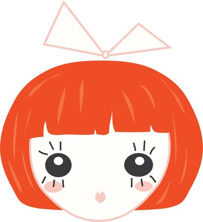 kleine meisjes: Gebruik deze pop hoofd voor de jurk van een meisje of een shirt.