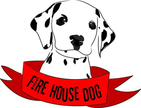 Minnaars van de hond zullen van dit ontwerp op een hond speelgoed zak om de hond park te brengen. Stock Illustratie