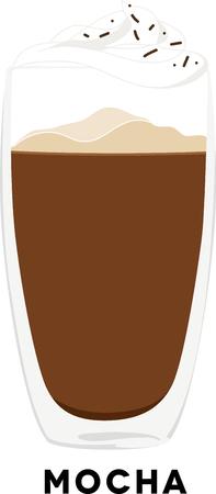 Gebruik dit mokka voor het overhemd of de schort van een barista's. Stockfoto - 42758997