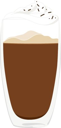 baristas: Use this mocha for a baristas shirt or apron.