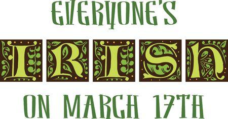 ST.PATRICK의 DAY BLOCK PARTY 저지대에서 가장 큰 St. Patricks Day 기념 행사에 참석하십시오. 스톡 콘텐츠 - 42759100
