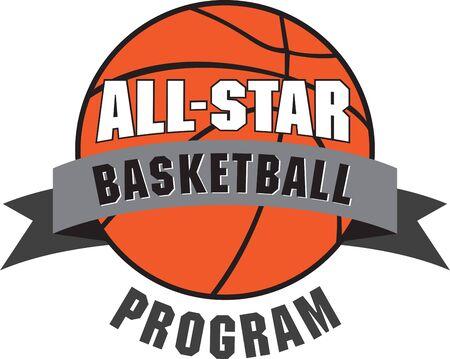 Ondersteun uw basketbalteam met dit ontwerp. Perfect om toe te voegen aan hun uitrusting. Stockfoto - 42759965