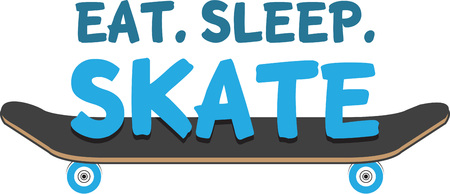 outdoor activity: Skate boards are a great outdoor activity for your kids.  Add this image to their gear.