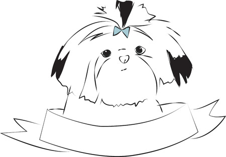 shih tzu: A perfect gift for dog lovers. Pick those Designs by embroidery patterns
