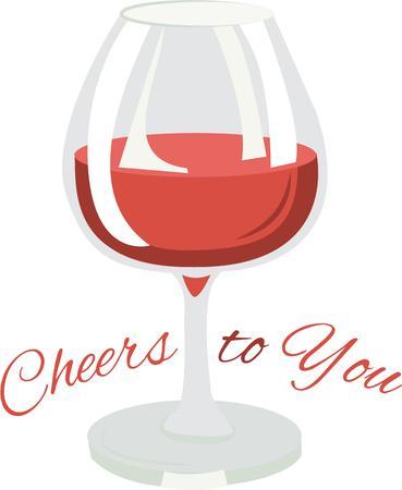 Use this glass of wine for a napkin set for a minibar. Banco de Imagens - 42760460