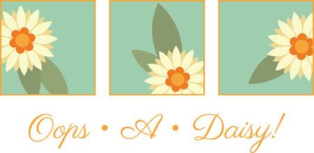 간단한 욕실이나 주방 수건에 꽃의 사각형을 사용하십시오.