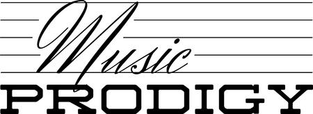 Prodigy: Użyj tej humorystycznej poważny projekt muzyczny dla studenta college'u. Ilustracja