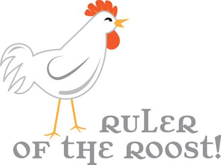 Verwenden Sie dieses Huhn für eine Küchenwäsche oder dekorative Vorhang. Standard-Bild - 42810556