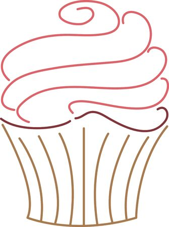 この美味しいケーキをあなたのキッチン エプロンを飾る。