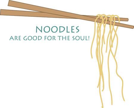 Use these chopsticks on napkin and linen set. Illusztráció