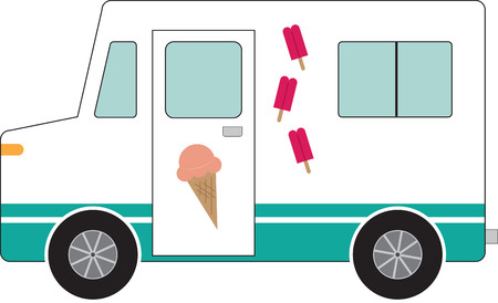 sorbet: Use this ice cream truck for a drivers shirt.
