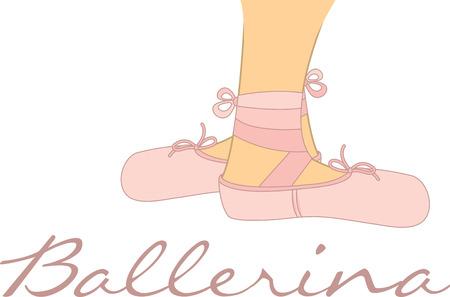リトル ダンサーのバレエ バレエのシャツやバッグにこれらのバレエの足を使用します。 写真素材 - 42919568