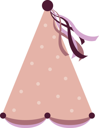 Use this princess hat on a pajama nightgown for your own little princess. Иллюстрация