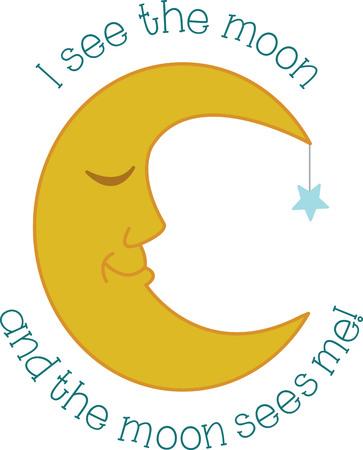 眠そうな月は、眠そうな赤ちゃんや眠そうなママに最適なパジャマのペアになります。  イラスト・ベクター素材