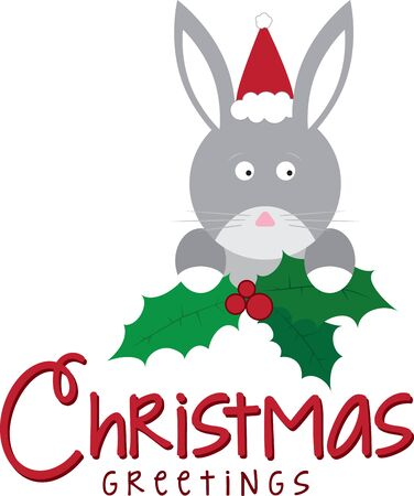 coney: Use this holly bunny on a childs shirt or dress. This would make a cute design for matching siblings outfits.