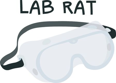 Safety goggles will make a great icon for an construction or science company.