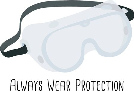 safety goggles: Safety goggles will make a great icon for an construction or science company.