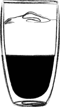 baristas: Use this latte for a baristas shirt or apron.